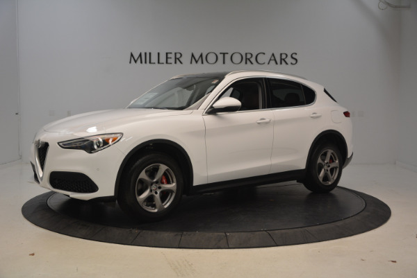 New 2018 Alfa Romeo Stelvio Q4 for sale Sold at McLaren Greenwich in Greenwich CT 06830 2