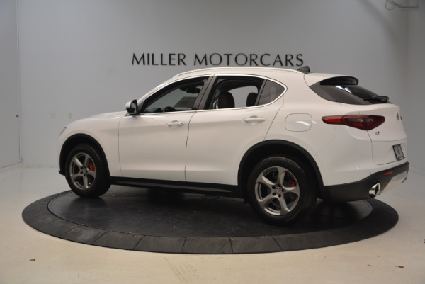 New 2018 Alfa Romeo Stelvio Q4 for sale Sold at McLaren Greenwich in Greenwich CT 06830 4