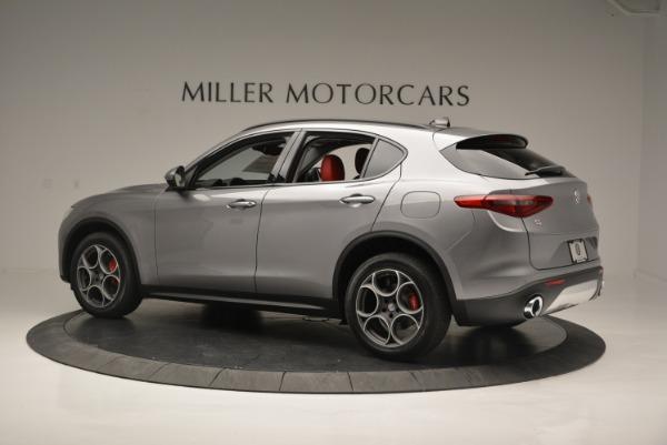 New 2018 Alfa Romeo Stelvio Sport Q4 for sale Sold at McLaren Greenwich in Greenwich CT 06830 3