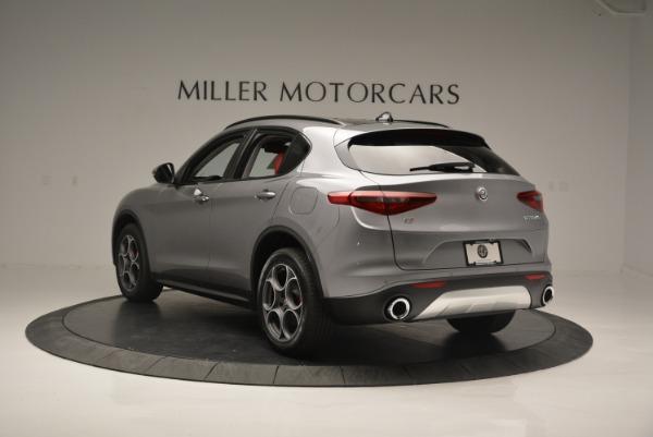 New 2018 Alfa Romeo Stelvio Sport Q4 for sale Sold at McLaren Greenwich in Greenwich CT 06830 4