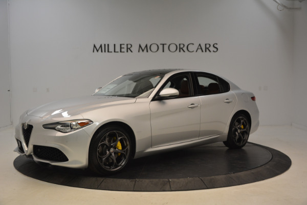New 2018 Alfa Romeo Giulia Ti Sport Q4 for sale Sold at McLaren Greenwich in Greenwich CT 06830 2