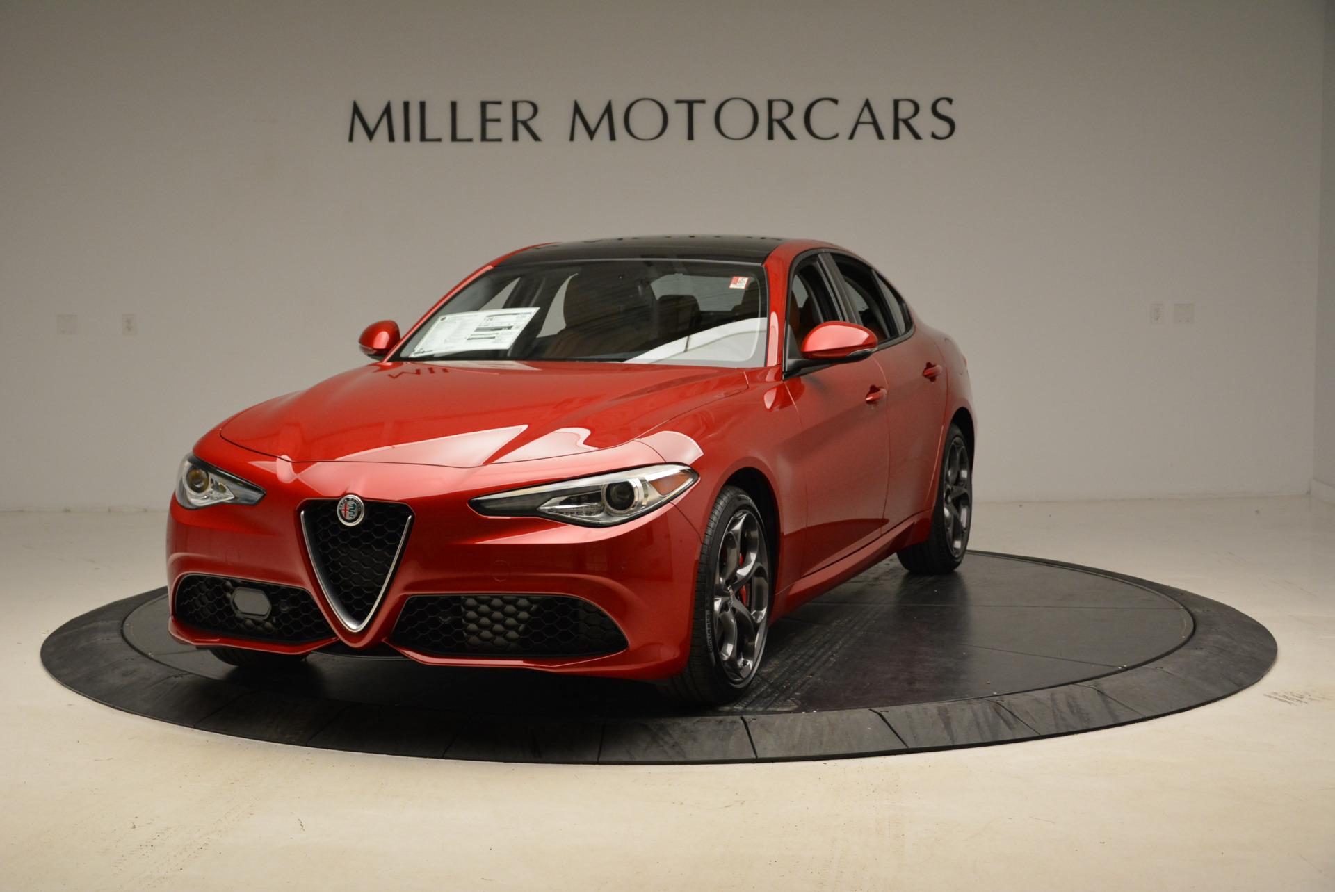 New 2018 Alfa Romeo Giulia Ti Sport Q4 for sale Sold at McLaren Greenwich in Greenwich CT 06830 1