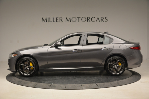 New 2018 Alfa Romeo Giulia Ti Sport Q4 for sale Sold at McLaren Greenwich in Greenwich CT 06830 3