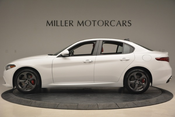 New 2018 Alfa Romeo Giulia Sport Q4 for sale Sold at McLaren Greenwich in Greenwich CT 06830 4