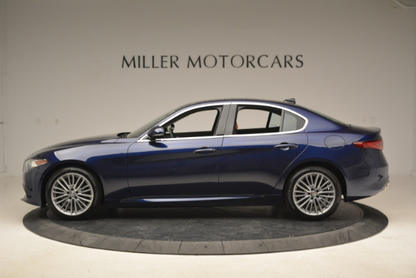 New 2018 Alfa Romeo Giulia Ti Lusso Q4 for sale Sold at McLaren Greenwich in Greenwich CT 06830 3