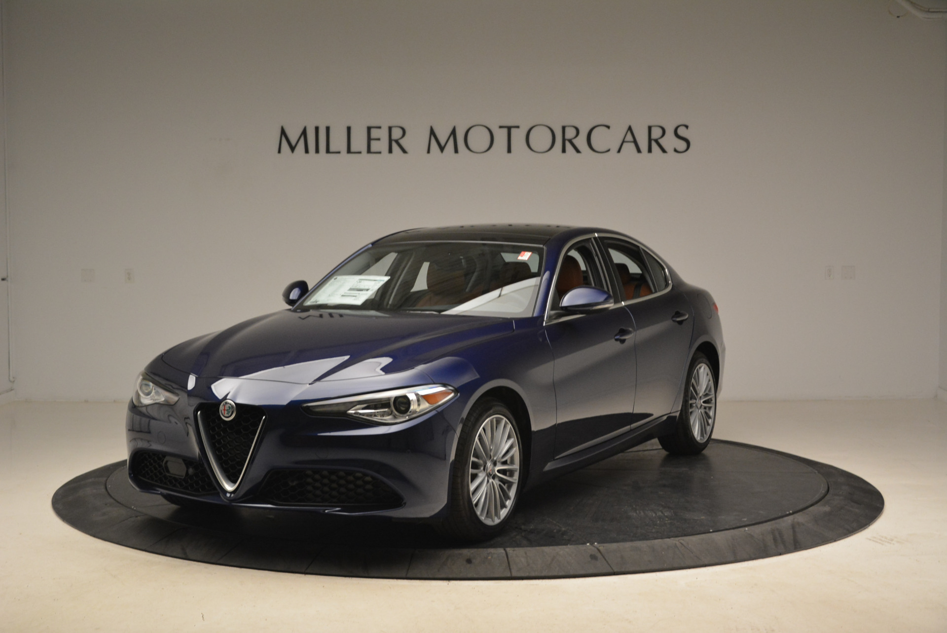 New 2018 Alfa Romeo Giulia Ti Lusso Q4 for sale Sold at McLaren Greenwich in Greenwich CT 06830 1