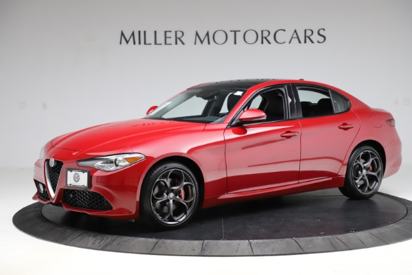 Used 2018 Alfa Romeo Giulia Ti Sport Q4 for sale Sold at McLaren Greenwich in Greenwich CT 06830 2