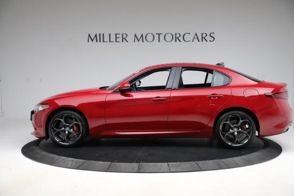 New 2018 Alfa Romeo Giulia Ti Sport Q4 for sale Sold at McLaren Greenwich in Greenwich CT 06830 3