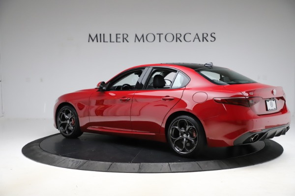 Used 2018 Alfa Romeo Giulia Ti Sport Q4 for sale Sold at McLaren Greenwich in Greenwich CT 06830 4