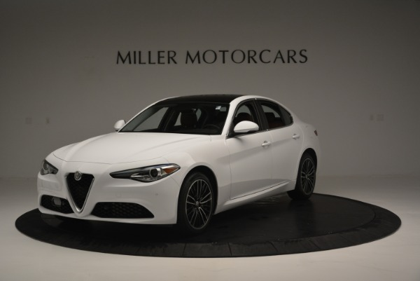 New 2018 Alfa Romeo Giulia Ti Lusso Q4 for sale Sold at McLaren Greenwich in Greenwich CT 06830 2