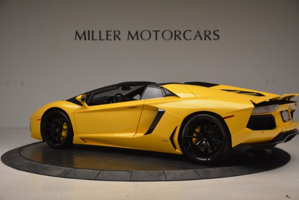 Used 2015 Lamborghini Aventador LP 700-4 Roadster for sale Sold at McLaren Greenwich in Greenwich CT 06830 4