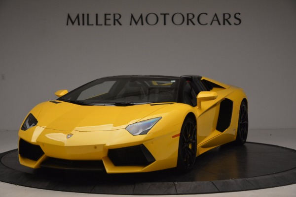 Used 2015 Lamborghini Aventador LP 700-4 Roadster for sale Sold at McLaren Greenwich in Greenwich CT 06830 1