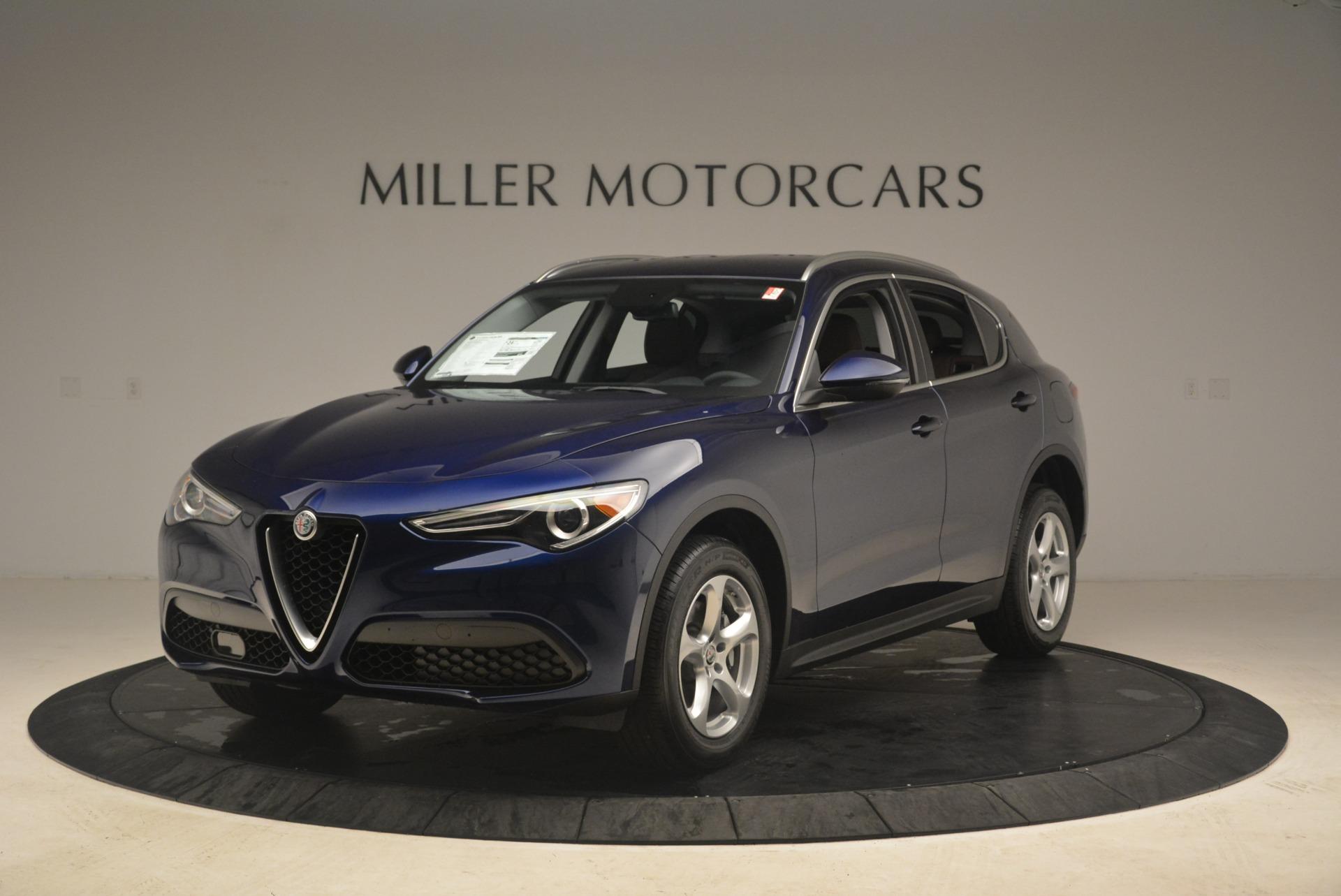 New 2018 Alfa Romeo Stelvio Q4 for sale Sold at McLaren Greenwich in Greenwich CT 06830 1