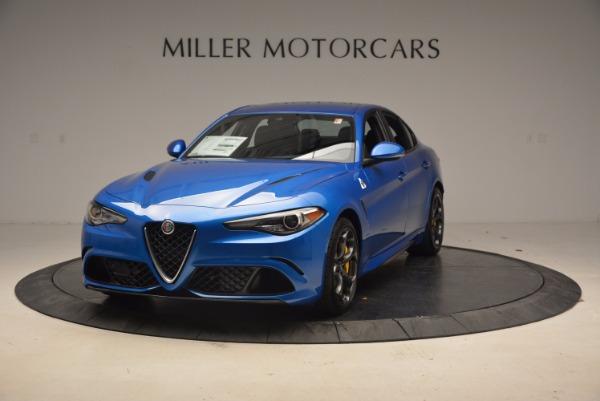 New 2018 Alfa Romeo Giulia Quadrifoglio for sale Sold at McLaren Greenwich in Greenwich CT 06830 1