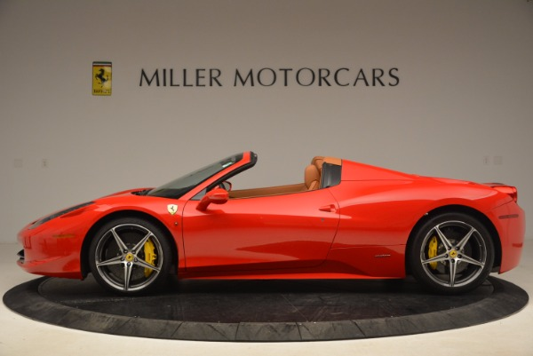 Used 2013 Ferrari 458 Spider for sale Sold at McLaren Greenwich in Greenwich CT 06830 3
