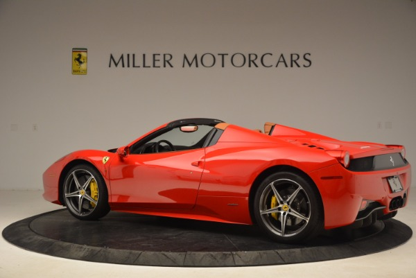 Used 2013 Ferrari 458 Spider for sale Sold at McLaren Greenwich in Greenwich CT 06830 4