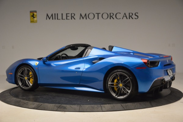 Used 2017 Ferrari 488 Spider for sale Sold at McLaren Greenwich in Greenwich CT 06830 4