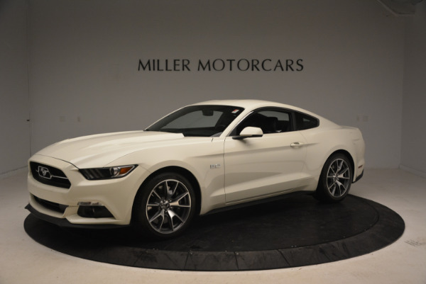 Used 2015 Ford Mustang GT 50 Years Limited Edition for sale Sold at McLaren Greenwich in Greenwich CT 06830 2