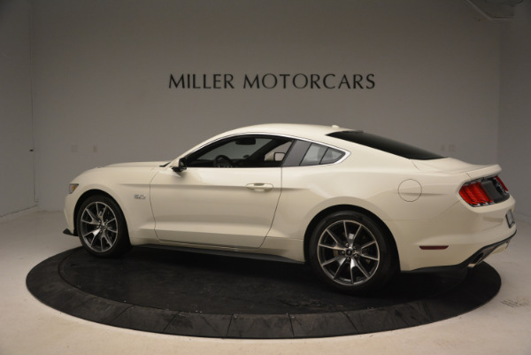 Used 2015 Ford Mustang GT 50 Years Limited Edition for sale Sold at McLaren Greenwich in Greenwich CT 06830 4