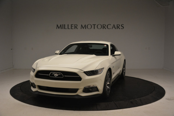 Used 2015 Ford Mustang GT 50 Years Limited Edition for sale Sold at McLaren Greenwich in Greenwich CT 06830 1
