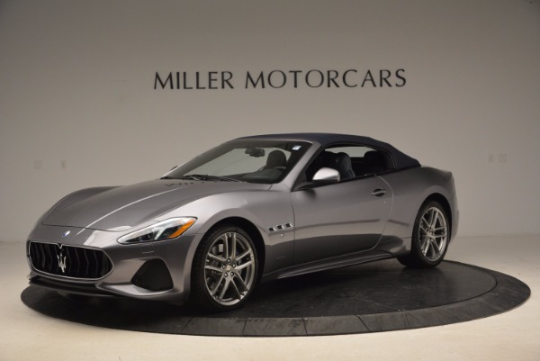 New 2018 Maserati GranTurismo Sport Convertible for sale Sold at McLaren Greenwich in Greenwich CT 06830 4