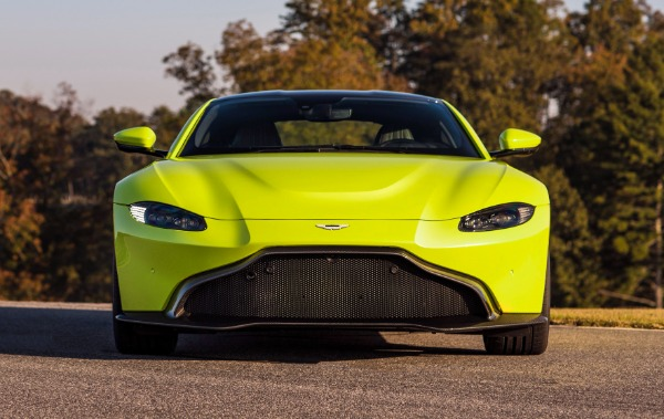 New 2019 Aston Martin Vantage for sale Sold at McLaren Greenwich in Greenwich CT 06830 1