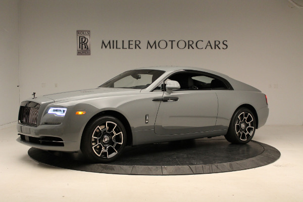 New 2018 Rolls-Royce Wraith Black Badge for sale Sold at McLaren Greenwich in Greenwich CT 06830 2