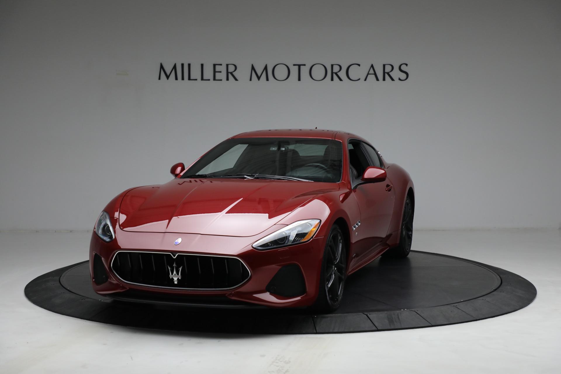 Used 2018 Maserati GranTurismo Sport for sale $94,900 at McLaren Greenwich in Greenwich CT 06830 1