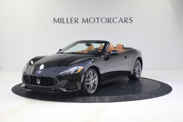 New 2018 Maserati GranTurismo Sport Convertible for sale Sold at McLaren Greenwich in Greenwich CT 06830 2