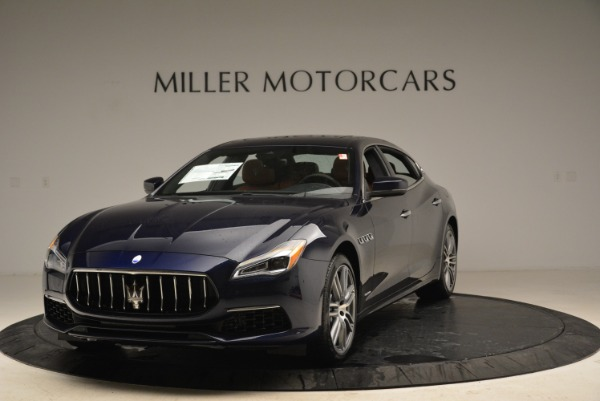 New 2018 Maserati Quattroporte S Q4 GranLusso for sale Sold at McLaren Greenwich in Greenwich CT 06830 1