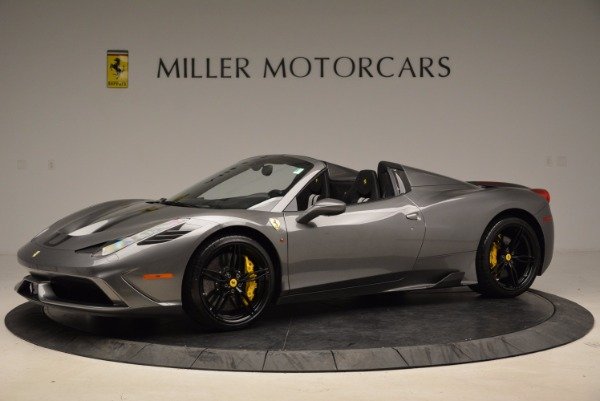 Used 2015 Ferrari 458 Speciale Aperta for sale Sold at McLaren Greenwich in Greenwich CT 06830 2