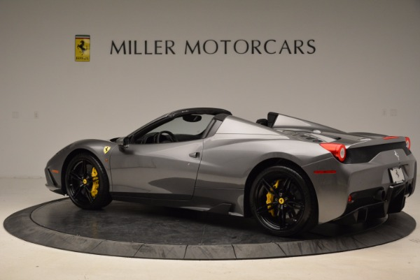 Used 2015 Ferrari 458 Speciale Aperta for sale Sold at McLaren Greenwich in Greenwich CT 06830 4
