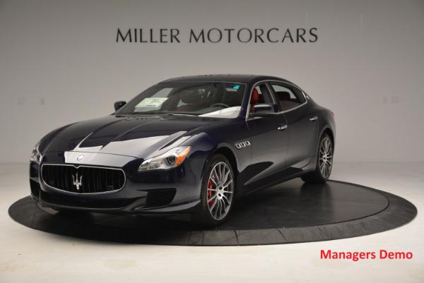 New 2016 Maserati Quattroporte S Q4  *******      DEALER'S  DEMO for sale Sold at McLaren Greenwich in Greenwich CT 06830 1