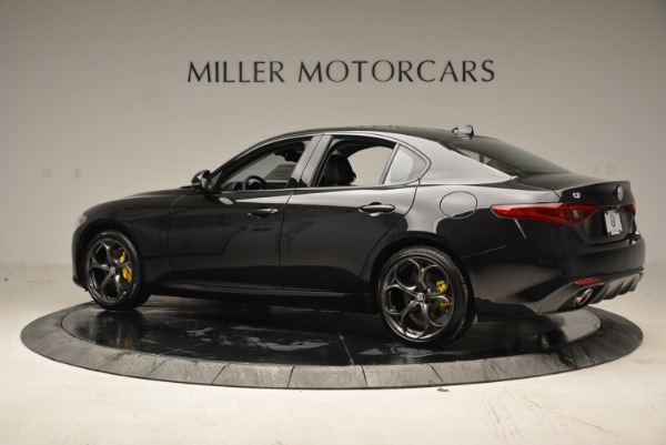 New 2018 Alfa Romeo Giulia Ti Sport Q4 for sale Sold at McLaren Greenwich in Greenwich CT 06830 4