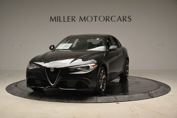 New 2018 Alfa Romeo Giulia Ti Sport Q4 for sale Sold at McLaren Greenwich in Greenwich CT 06830 1