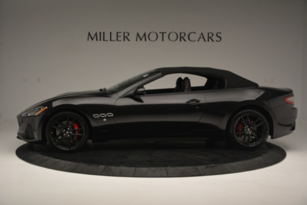 New 2018 Maserati GranTurismo Sport Convertible for sale Sold at McLaren Greenwich in Greenwich CT 06830 3