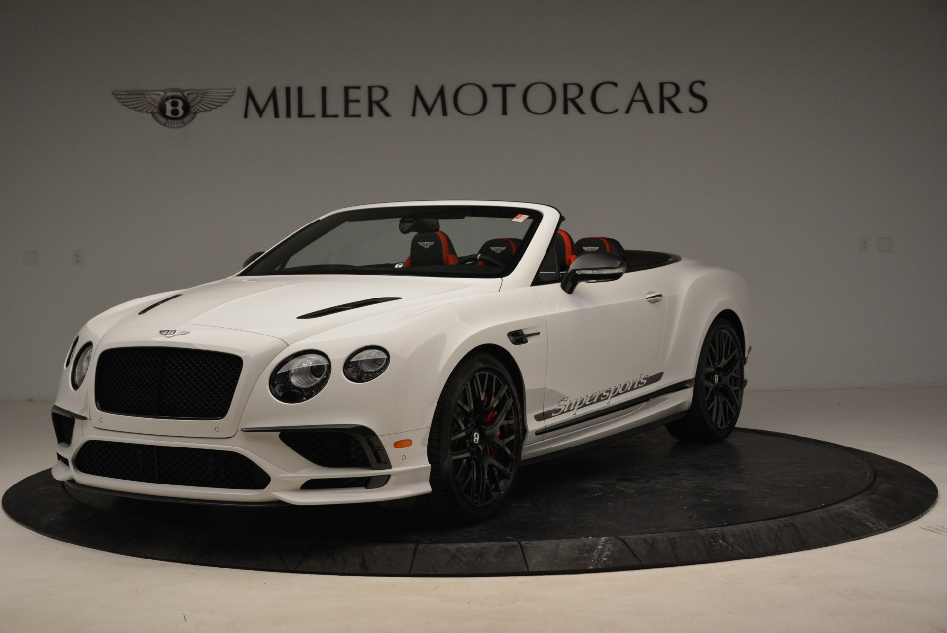 Used 2018 Bentley Continental GTC Supersports Convertible for sale $219,900 at McLaren Greenwich in Greenwich CT 06830 1