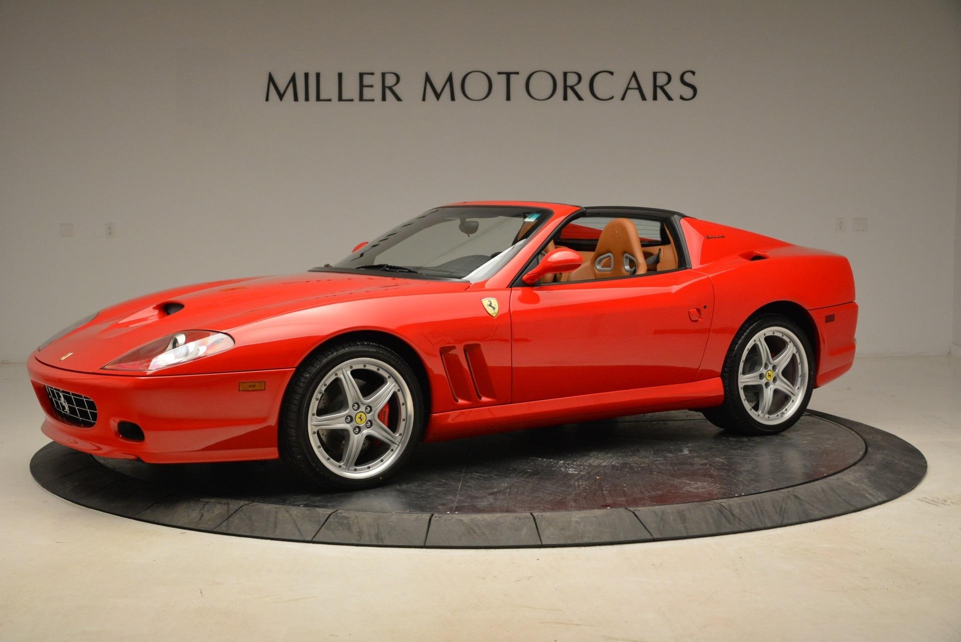 Used 2005 FERRARI Superamerica for sale $299,900 at McLaren Greenwich in Greenwich CT 06830 1