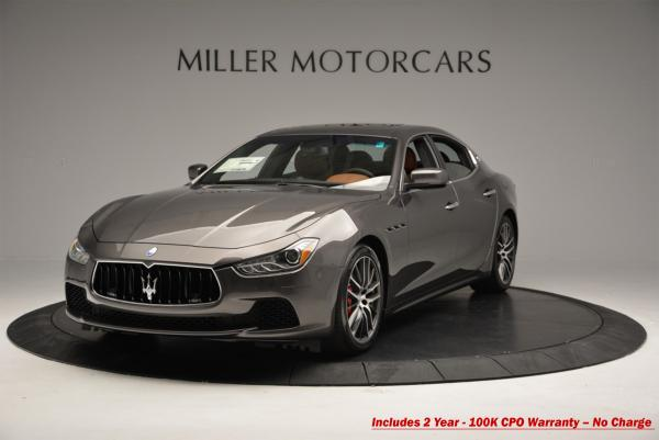 Used 2016 Maserati Ghibli S Q4 for sale Sold at McLaren Greenwich in Greenwich CT 06830 1