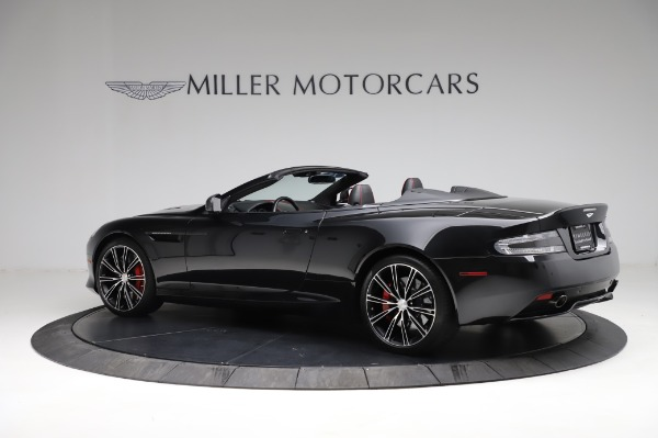 Used 2015 Aston Martin DB9 Convertible for sale Sold at McLaren Greenwich in Greenwich CT 06830 3