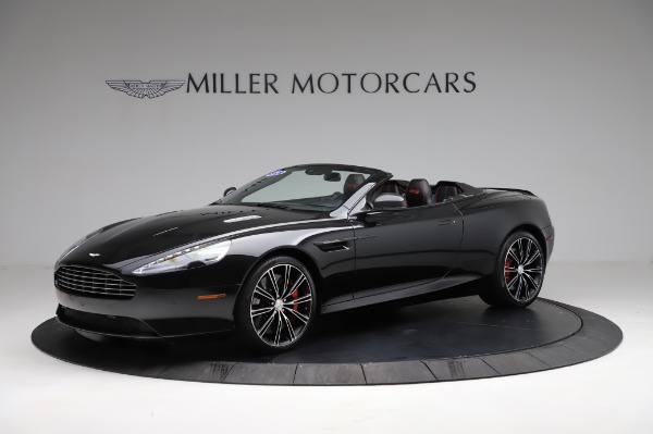 Used 2015 Aston Martin DB9 Convertible for sale Sold at McLaren Greenwich in Greenwich CT 06830 1