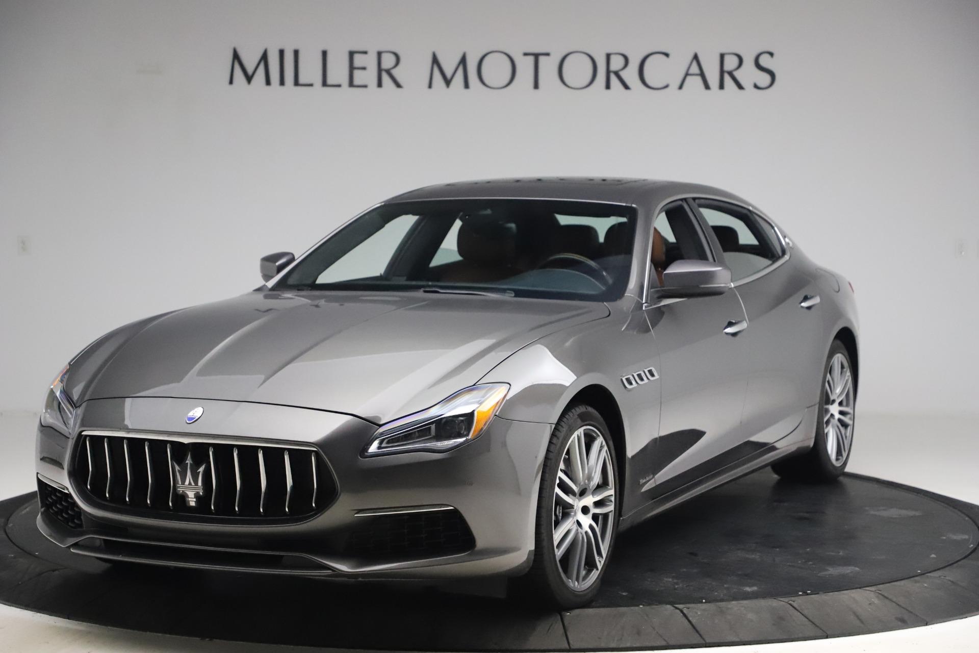 Used 2018 Maserati Quattroporte S Q4 GranLusso for sale $65,900 at McLaren Greenwich in Greenwich CT 06830 1