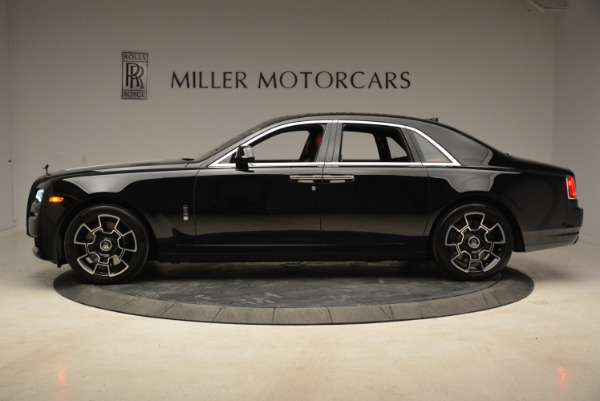Used 2017 Rolls-Royce Ghost Black Badge for sale Sold at McLaren Greenwich in Greenwich CT 06830 3
