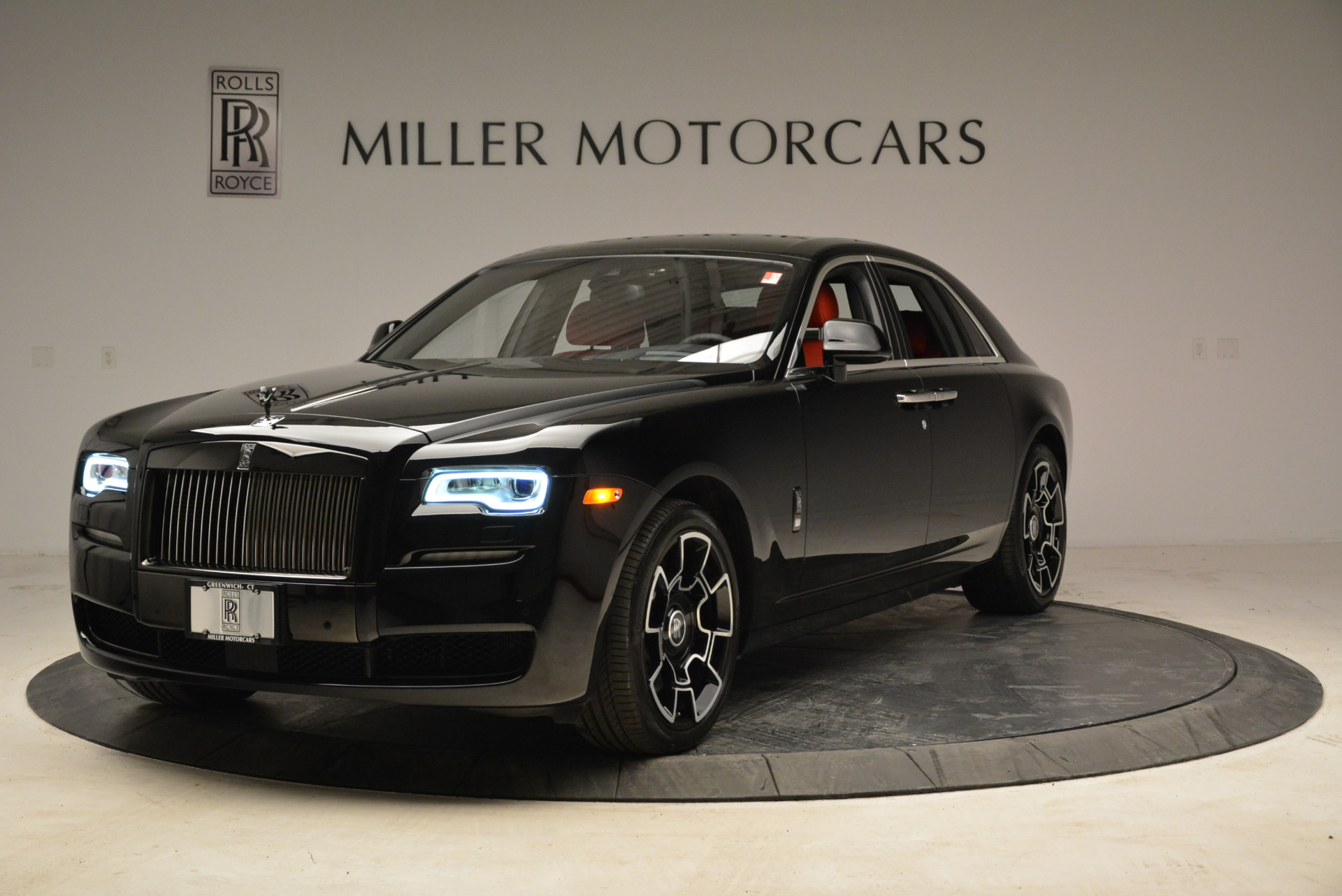 Used 2017 Rolls-Royce Ghost Black Badge for sale Sold at McLaren Greenwich in Greenwich CT 06830 1