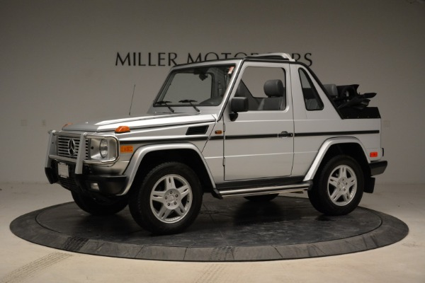 Used 1999 Mercedes Benz G500 Cabriolet for sale Sold at McLaren Greenwich in Greenwich CT 06830 2