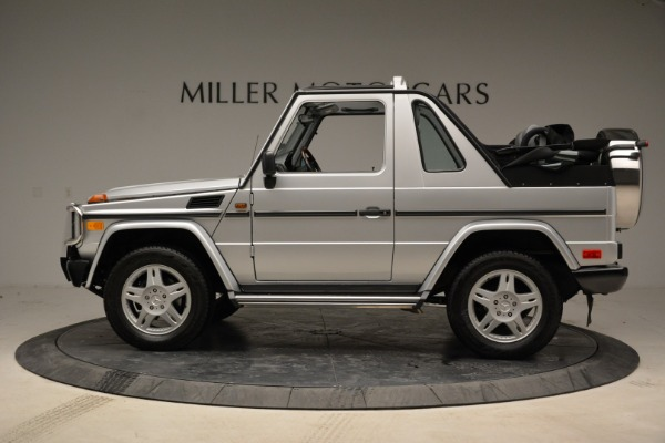 Used 1999 Mercedes Benz G500 Cabriolet for sale Sold at McLaren Greenwich in Greenwich CT 06830 3