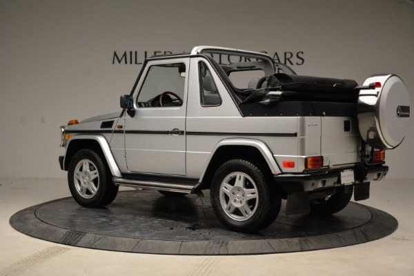 Used 1999 Mercedes Benz G500 Cabriolet for sale Sold at McLaren Greenwich in Greenwich CT 06830 4