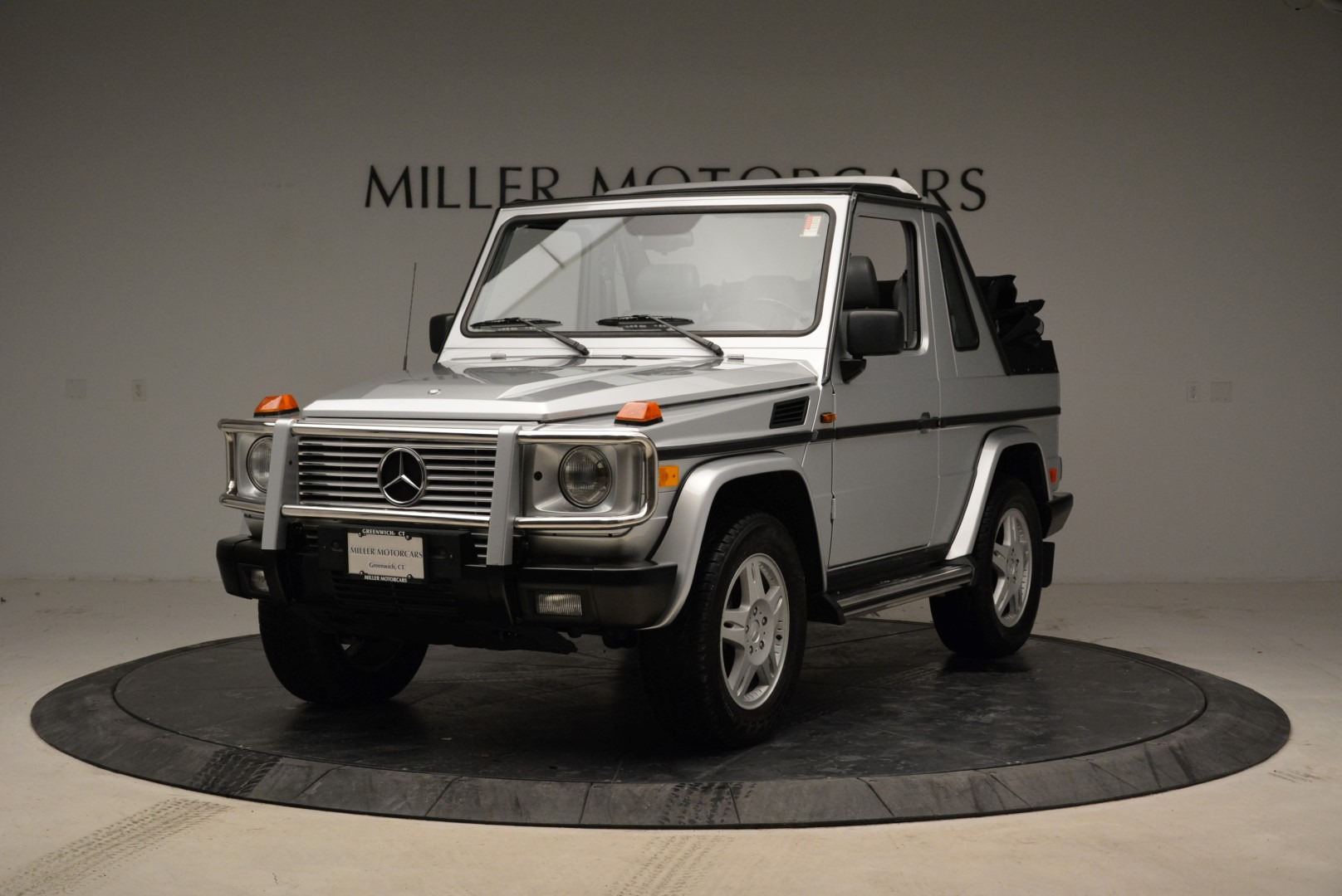 Used 1999 Mercedes Benz G500 Cabriolet for sale Sold at McLaren Greenwich in Greenwich CT 06830 1