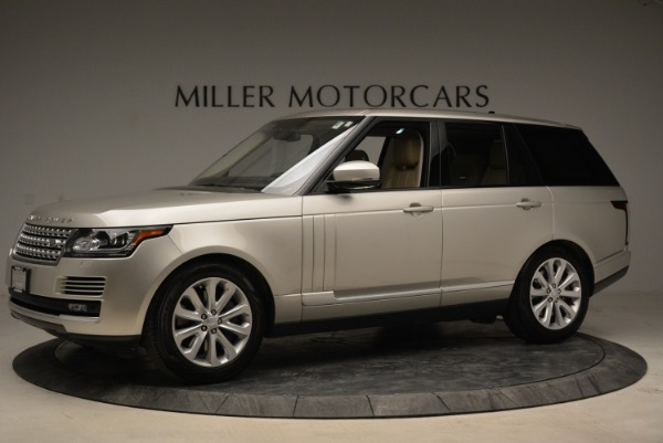 Used 2016 Land Rover Range Rover HSE for sale Sold at McLaren Greenwich in Greenwich CT 06830 2