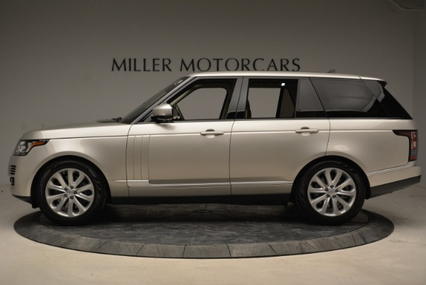 Used 2016 Land Rover Range Rover HSE for sale Sold at McLaren Greenwich in Greenwich CT 06830 3